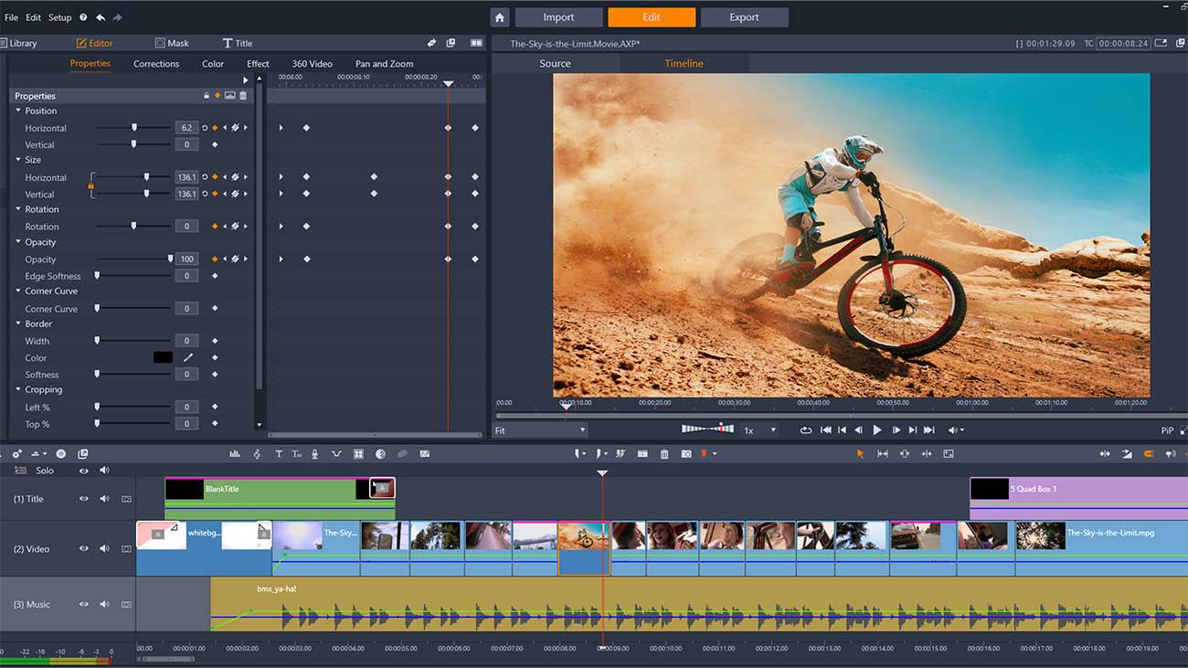 Un editor video più flessibile thumbnail