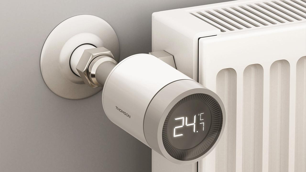 thomson valvola termostatica connessa