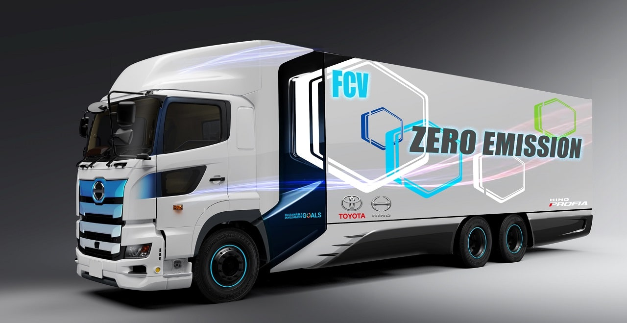 toyota camion a idrogeno auto