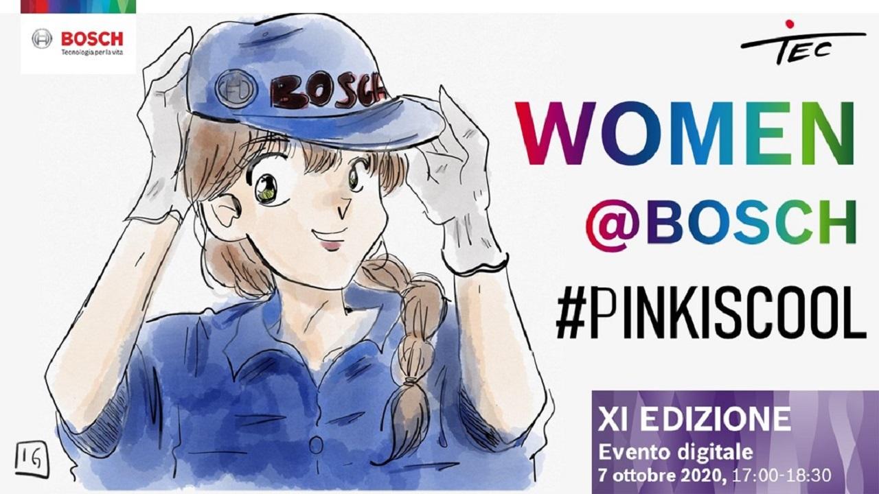 women@bosch: diventa digitale il progetto dedicato alle studentesse thumbnail