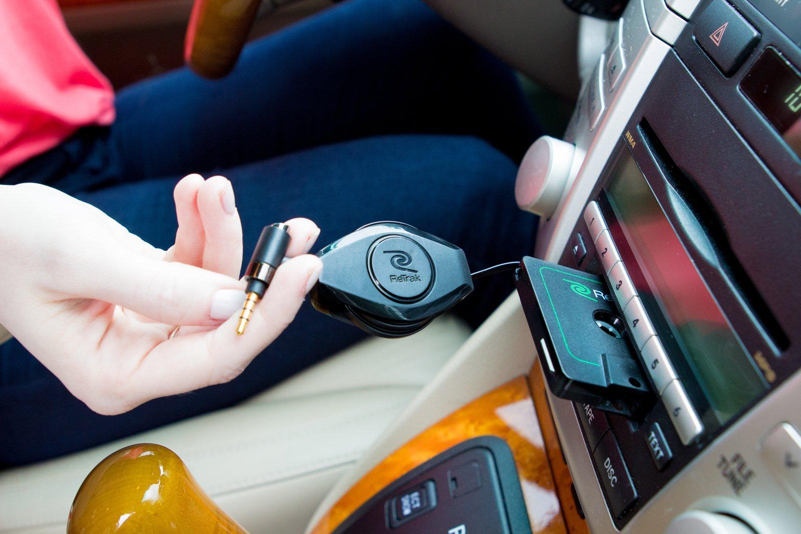 5 accessori auto AUX Cassette