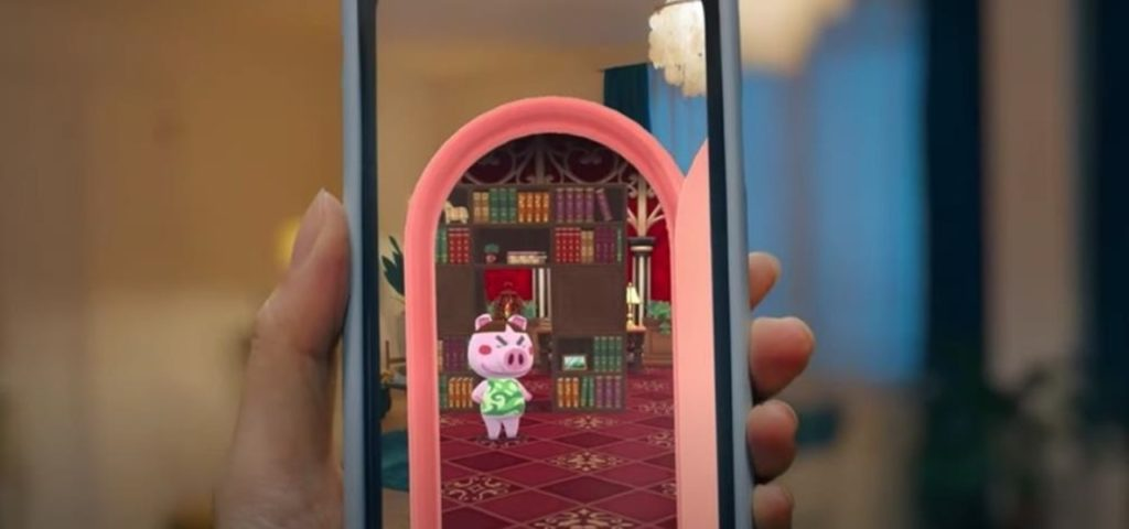 Animal Crossing Pocket camp AR