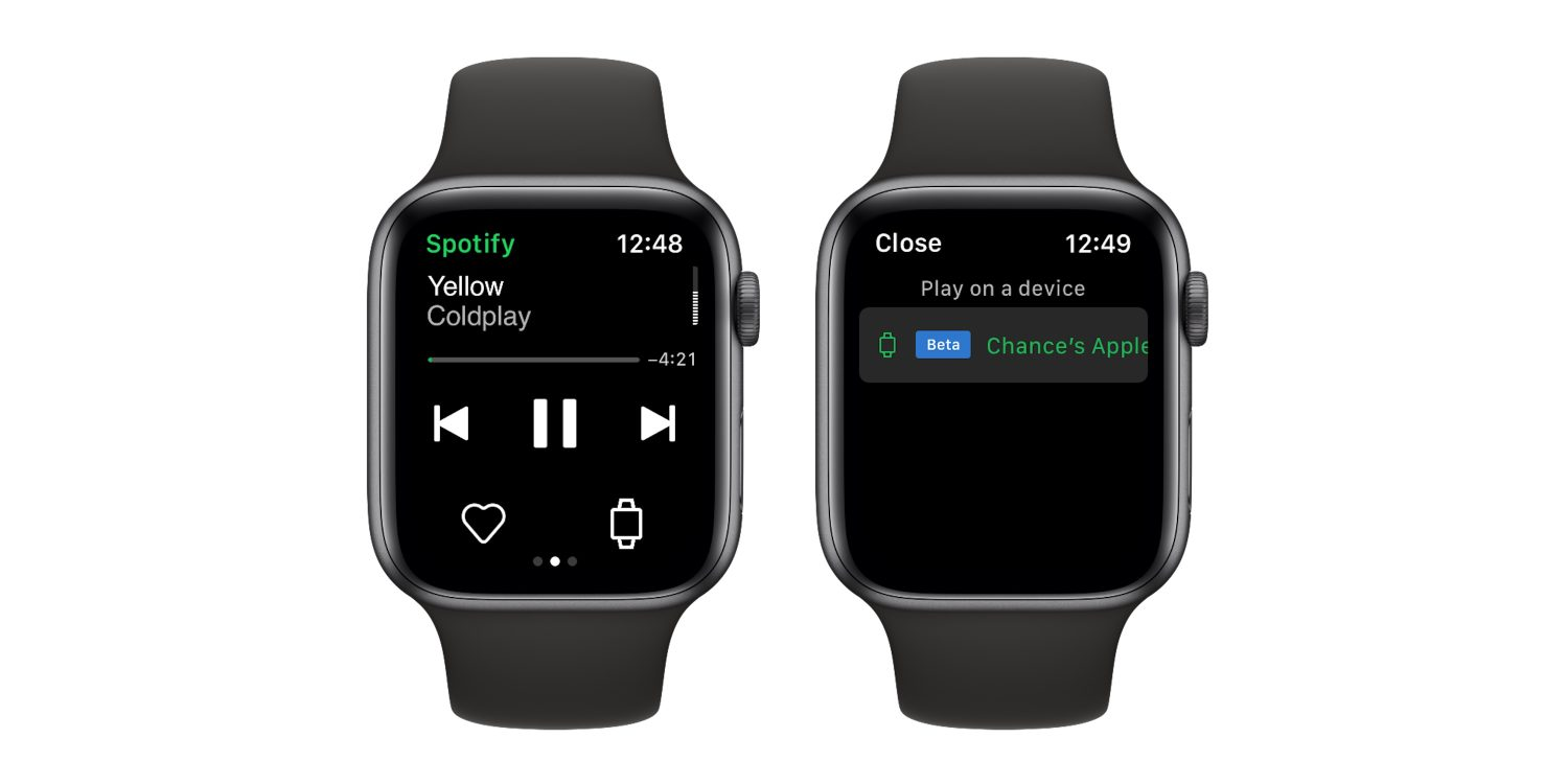 L'App di Spotify funziona su Apple Watch senza bisogno dell'iPhone thumbnail