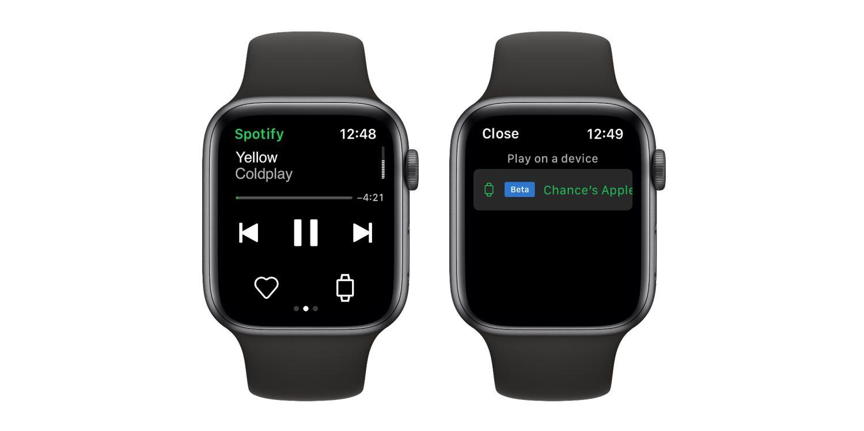 L'App di Spotify funziona su Apple Watch senza bisogno dell'iPhone thumbnail