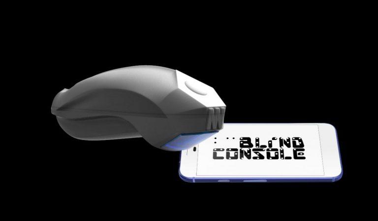 Blind Console, la console progettata per ipo e non vedenti
