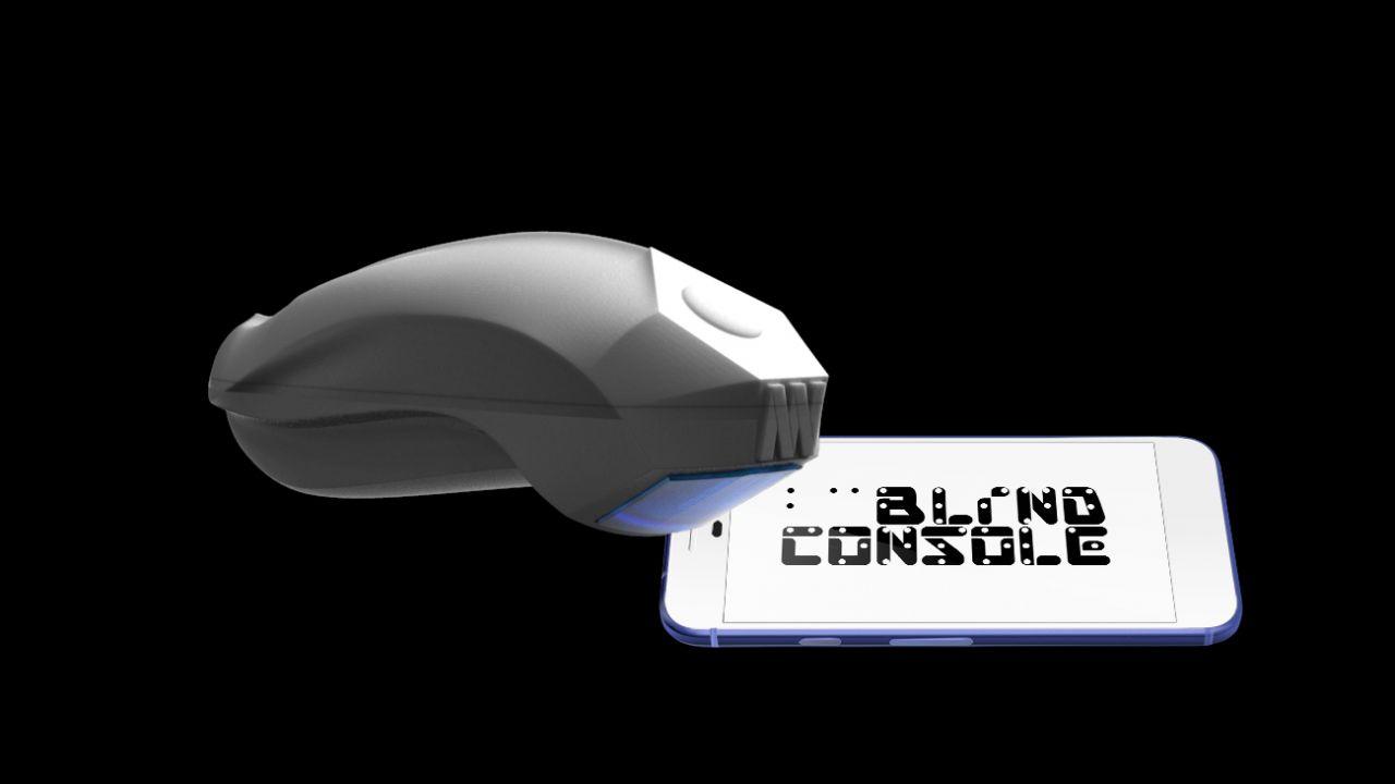 Blind Console, la console progettata per ipo e non vedenti thumbnail
