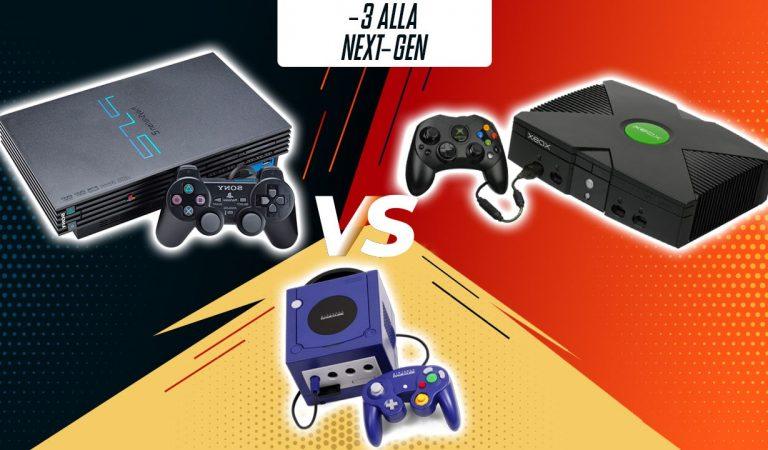 -3: PlayStation 2 vs. Xbox vs. GameCube
