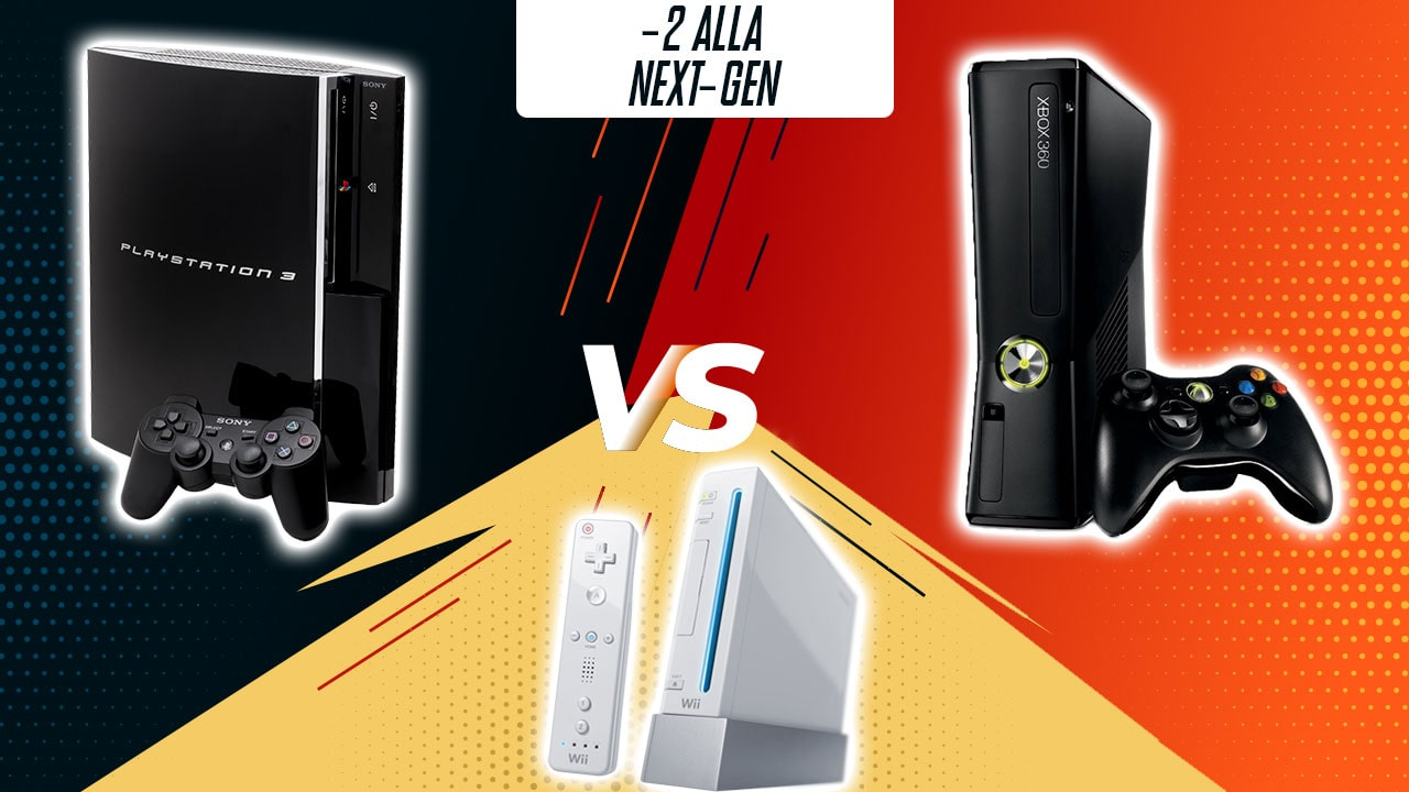 -2: Xbox 360 vs PlayStation 3 vs Nintendo Wii thumbnail