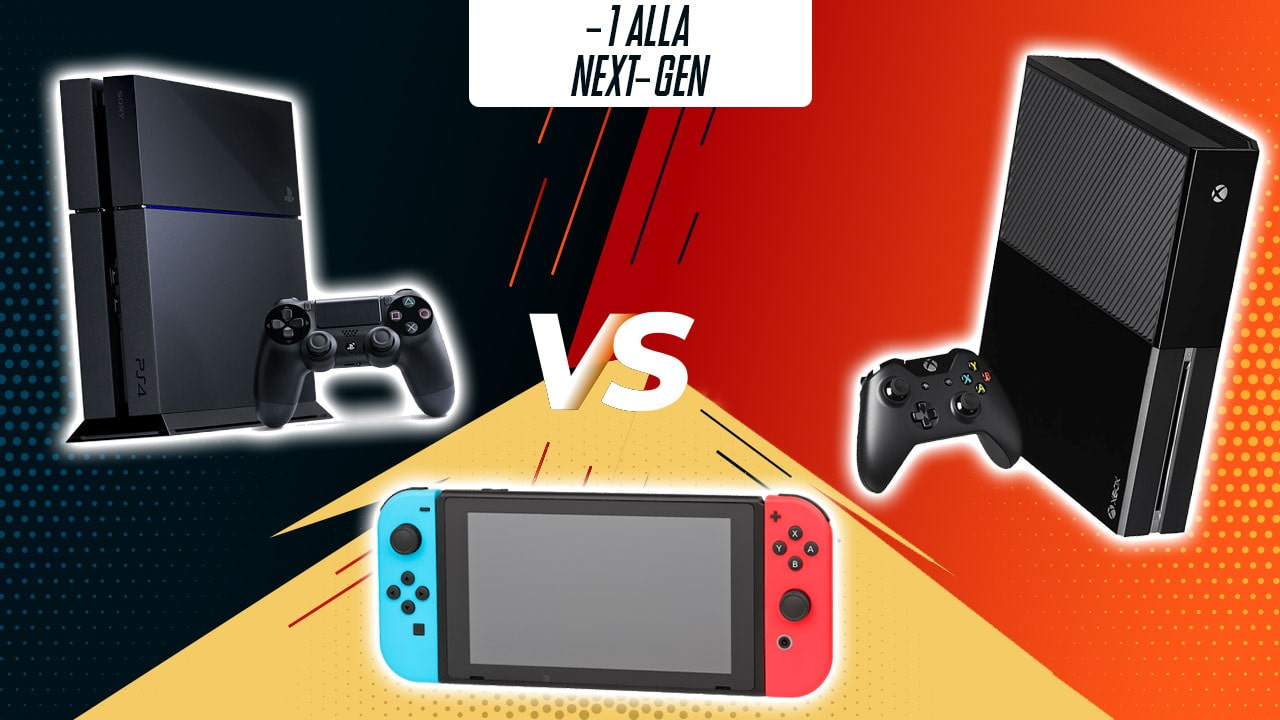 -1: Nintendo Switch vs PlayStation 4 vs Xbox One thumbnail