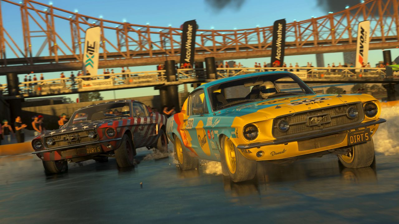 Il team di DIRT 5 parla dell'esperienza di gioco su PlayStation 5 e mostra il primo gameplay thumbnail