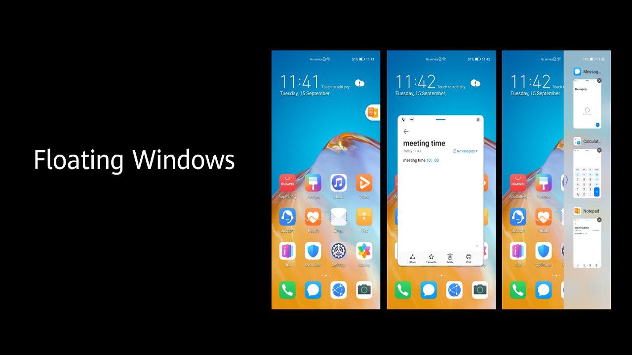 Huawei annuncia EMUI 11, la nuova versione dell'interfaccia grafica thumbnail