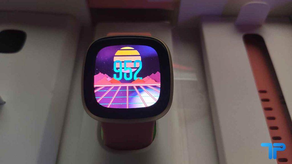 Fitbit Versa 3 - Schermo