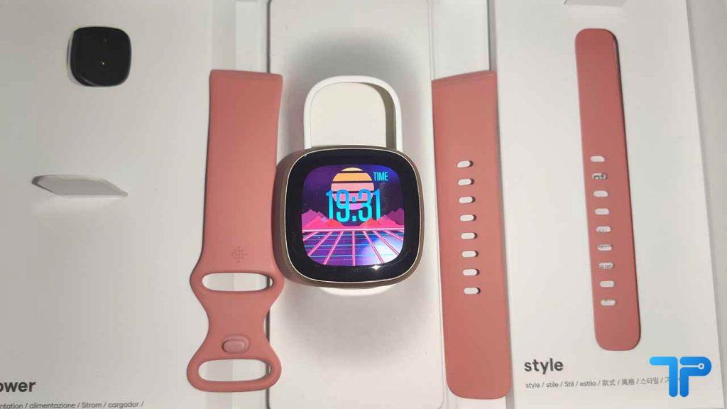 Fitbit Versa 3 confezione