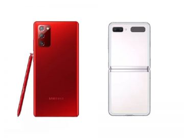 Galaxy Note 20 rosso z flip-min