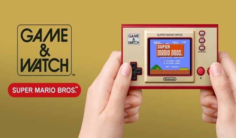 Il grande ritorno di Super Mario con il Game & Watch