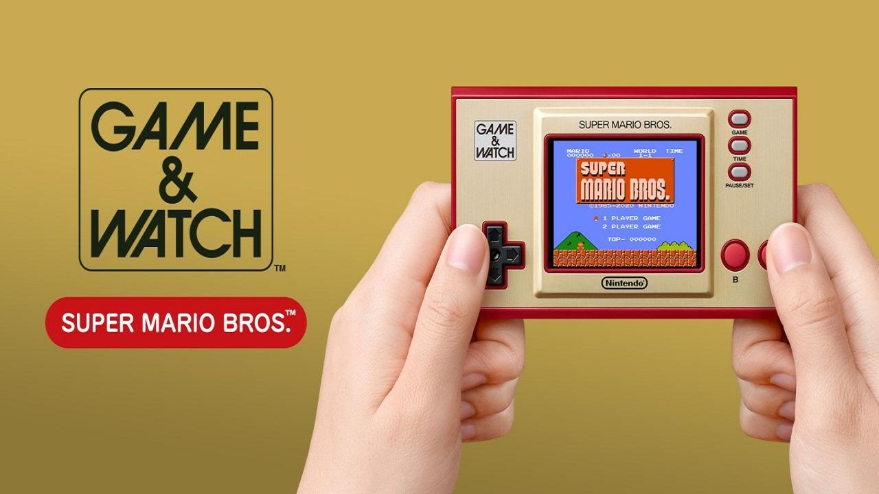 Il grande ritorno di Super Mario con il Game & Watch thumbnail