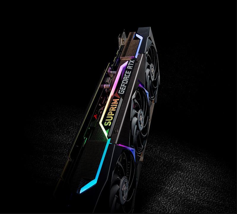 GeForce Nvidia RTX 3080 MSI Suprim