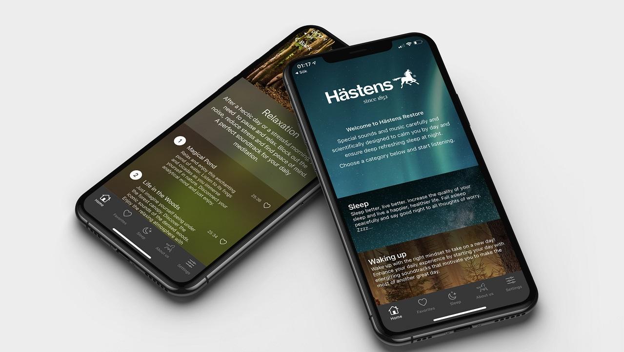 Hästens Restore è la nuova app che migliora la qualità del sonno thumbnail