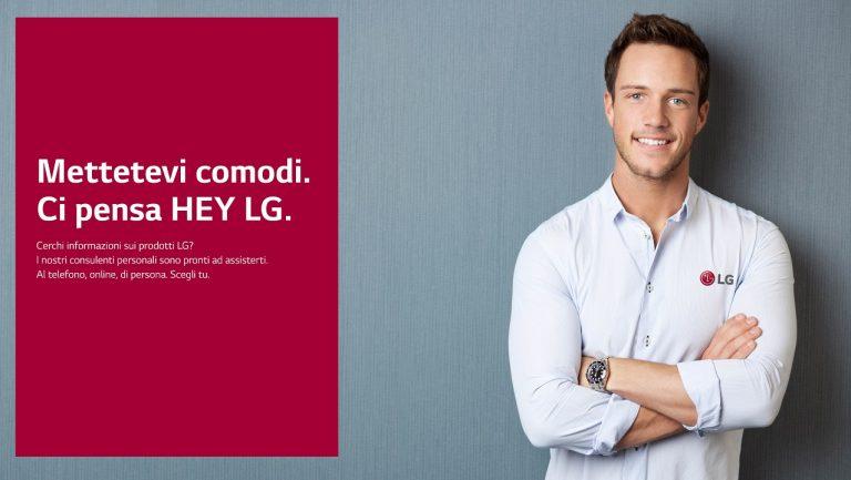 Hey LG personal shopper