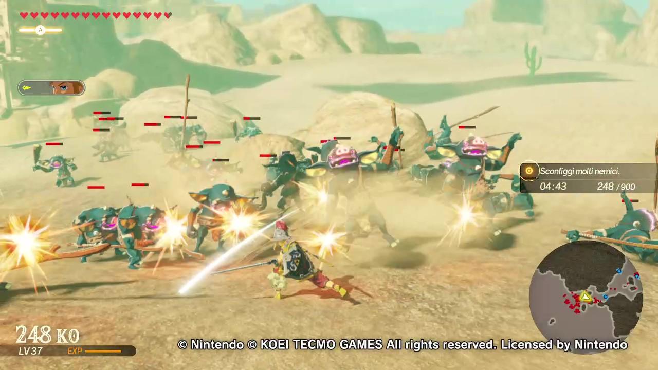 Zelda: il prequel di Breath of the Wild è un picchiaduro thumbnail