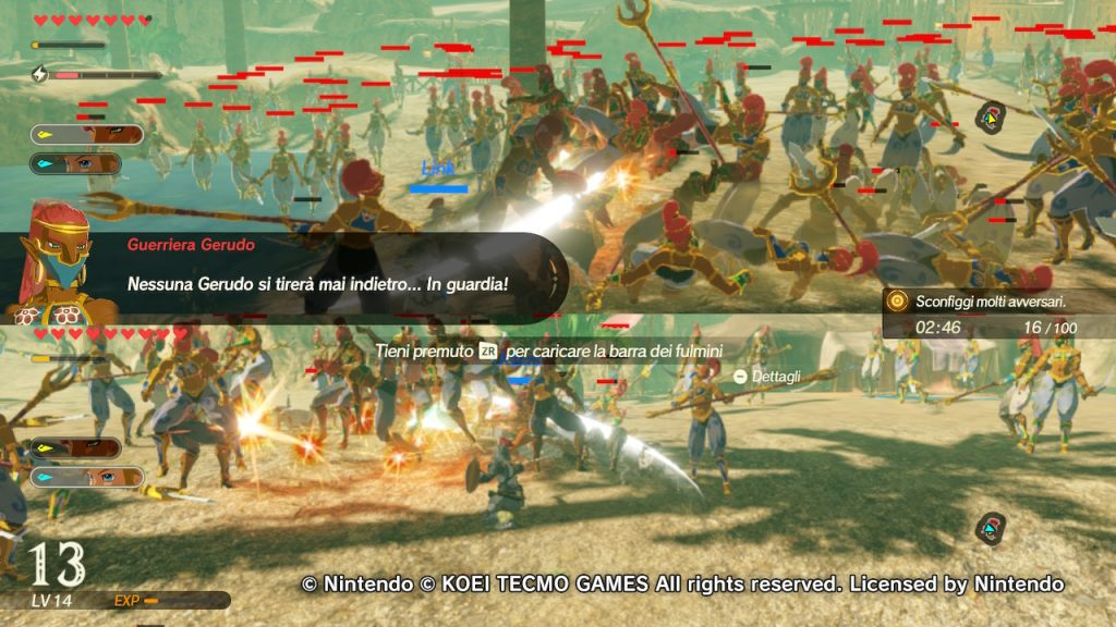 Hyrule Warriors L'era della calamità due giocatori
