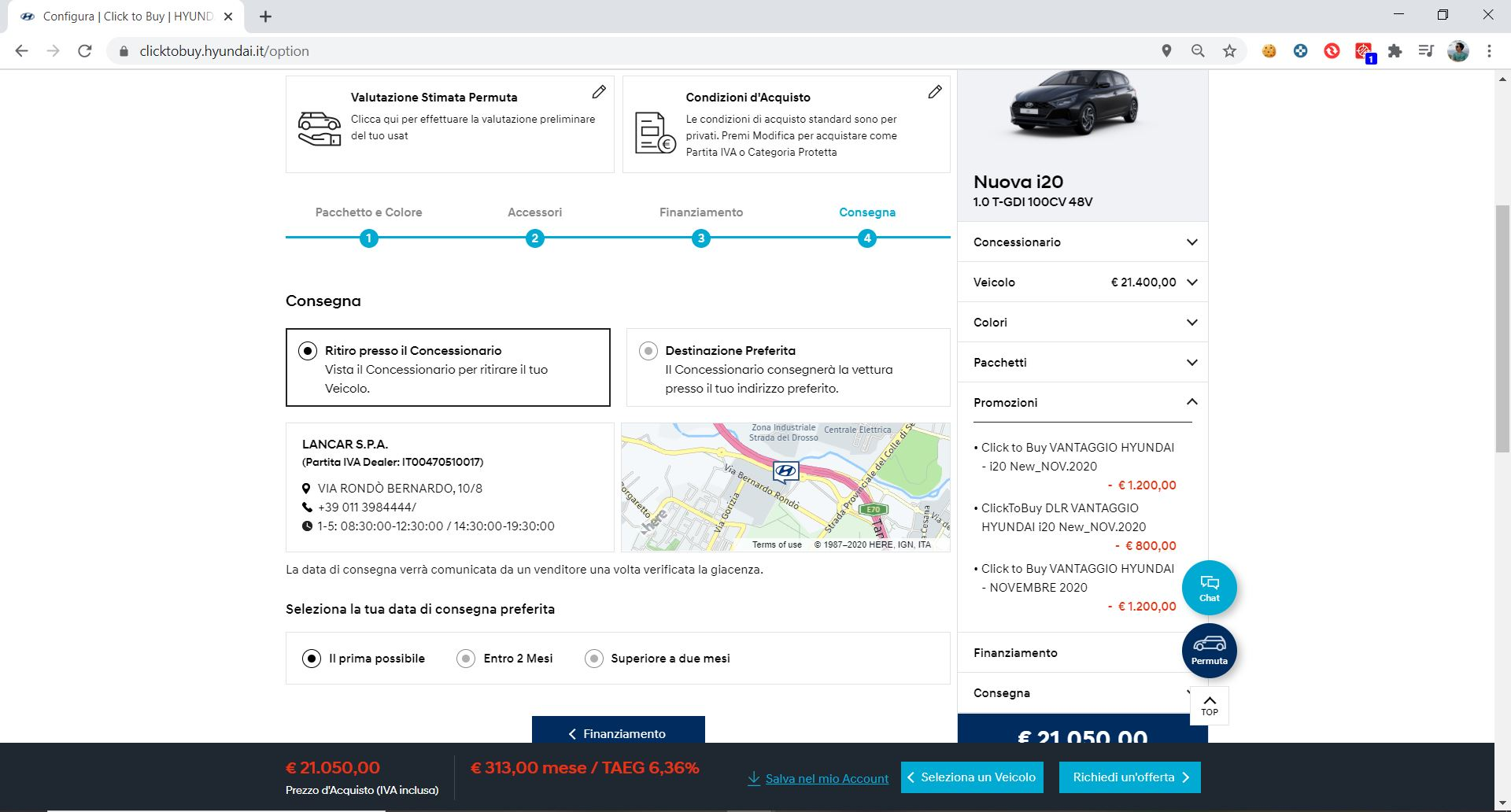 Hyundai click to buy concessionario