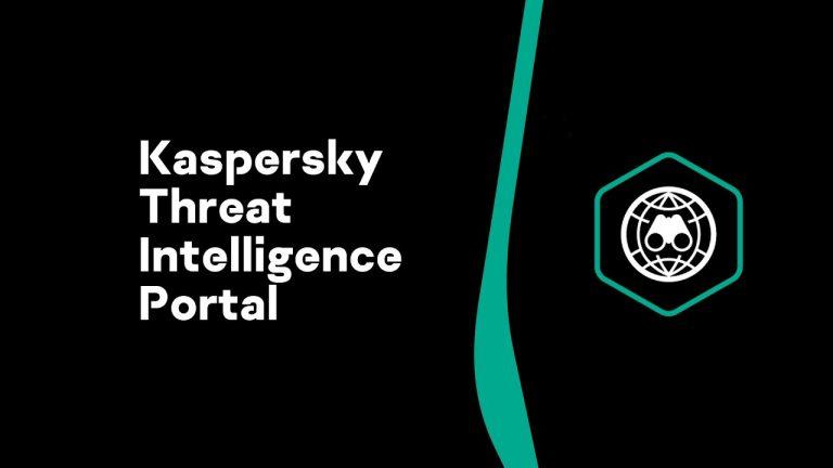 Kaspersky threat intelligence portal api
