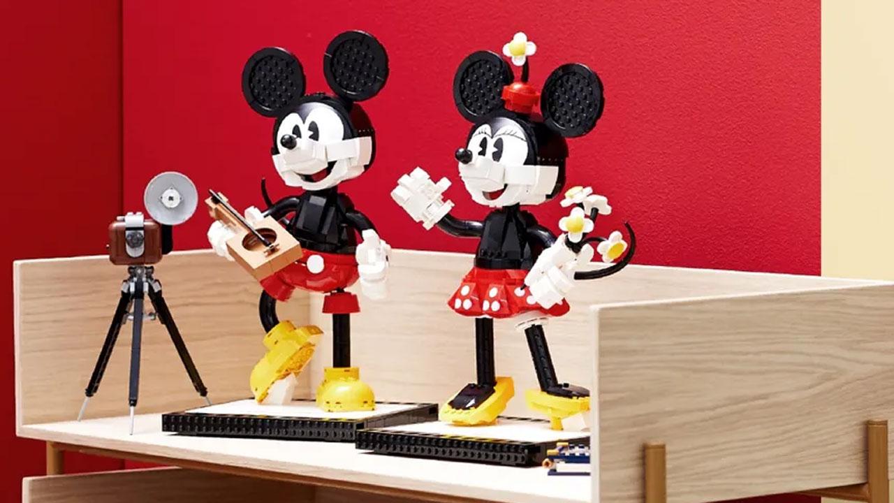 regali di natale per fidanzati LEGO Topolino e Minnie
