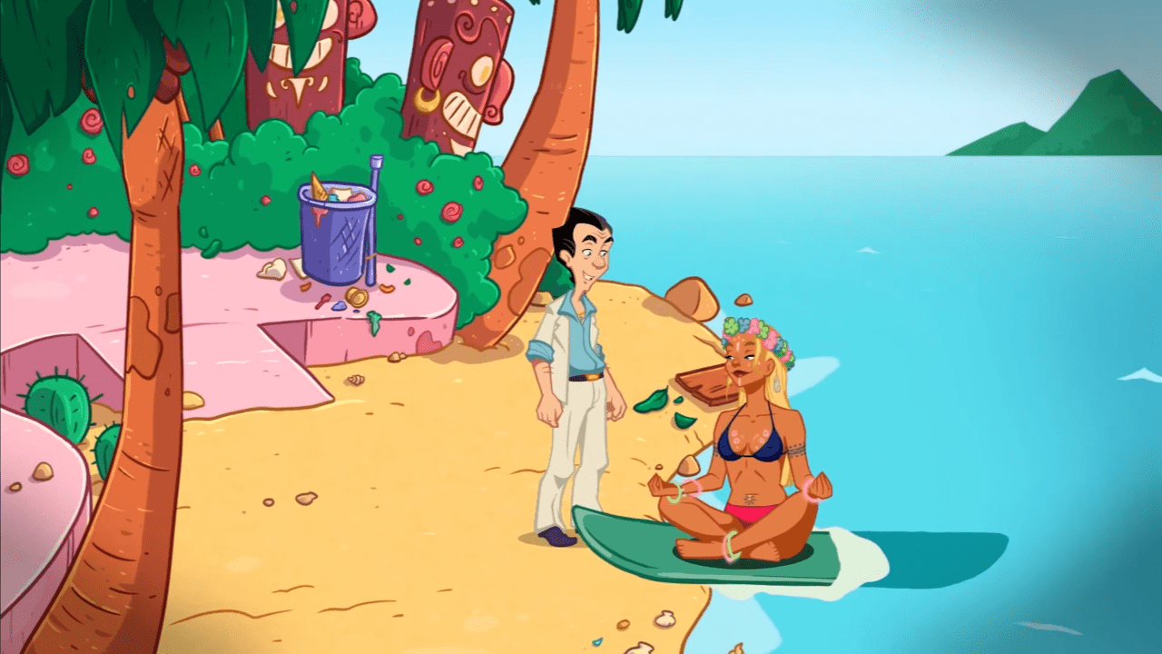 Leisure Suit Larry - Wet Dreams Dry Twice porta l'ironia su console thumbnail
