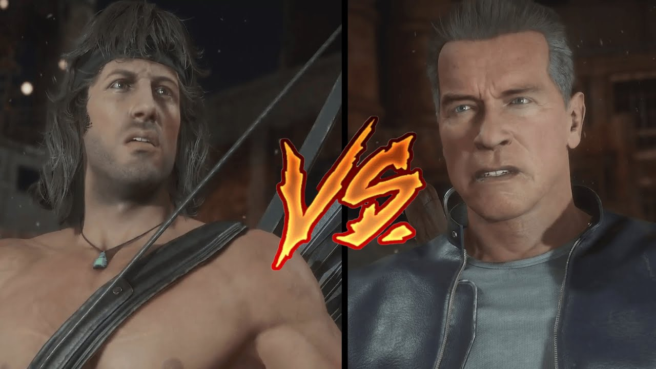 MK11 Ultimate: ecco il nuovo trailer Rambo vs Terminator thumbnail