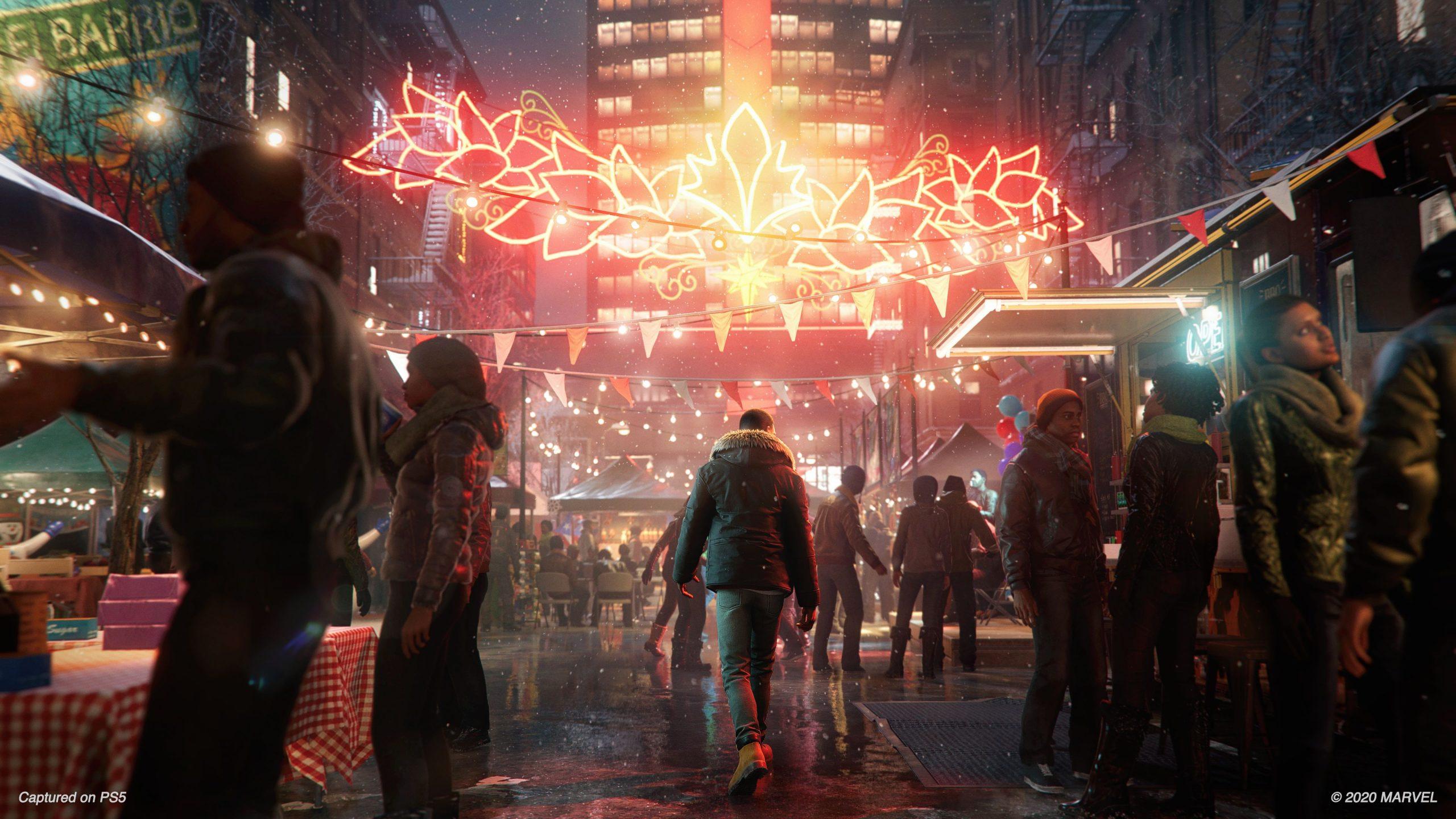 Playstation 5 spider man miles morales recensione raytracing