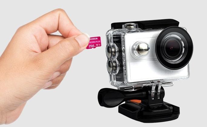 MicroSD Exceria Plus kioxia-min