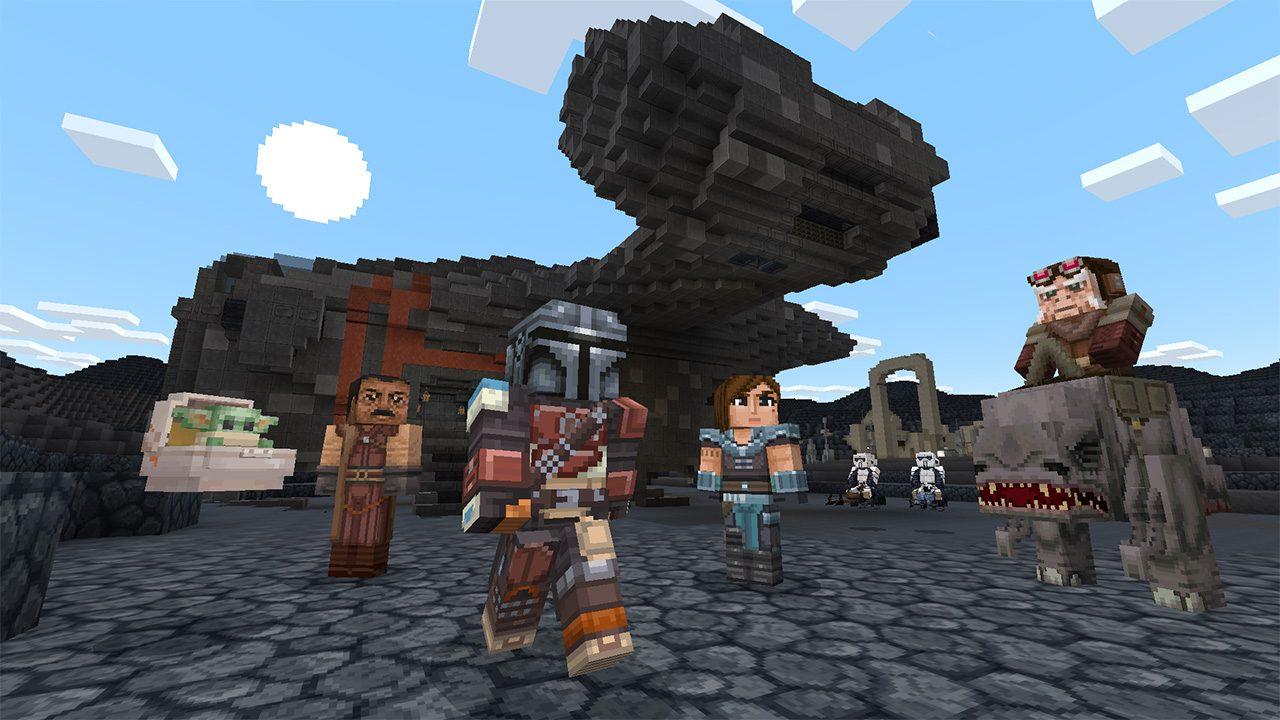 Arriva il DLC Star Wars di Minecraft. E c'è anche Baby Yoda thumbnail