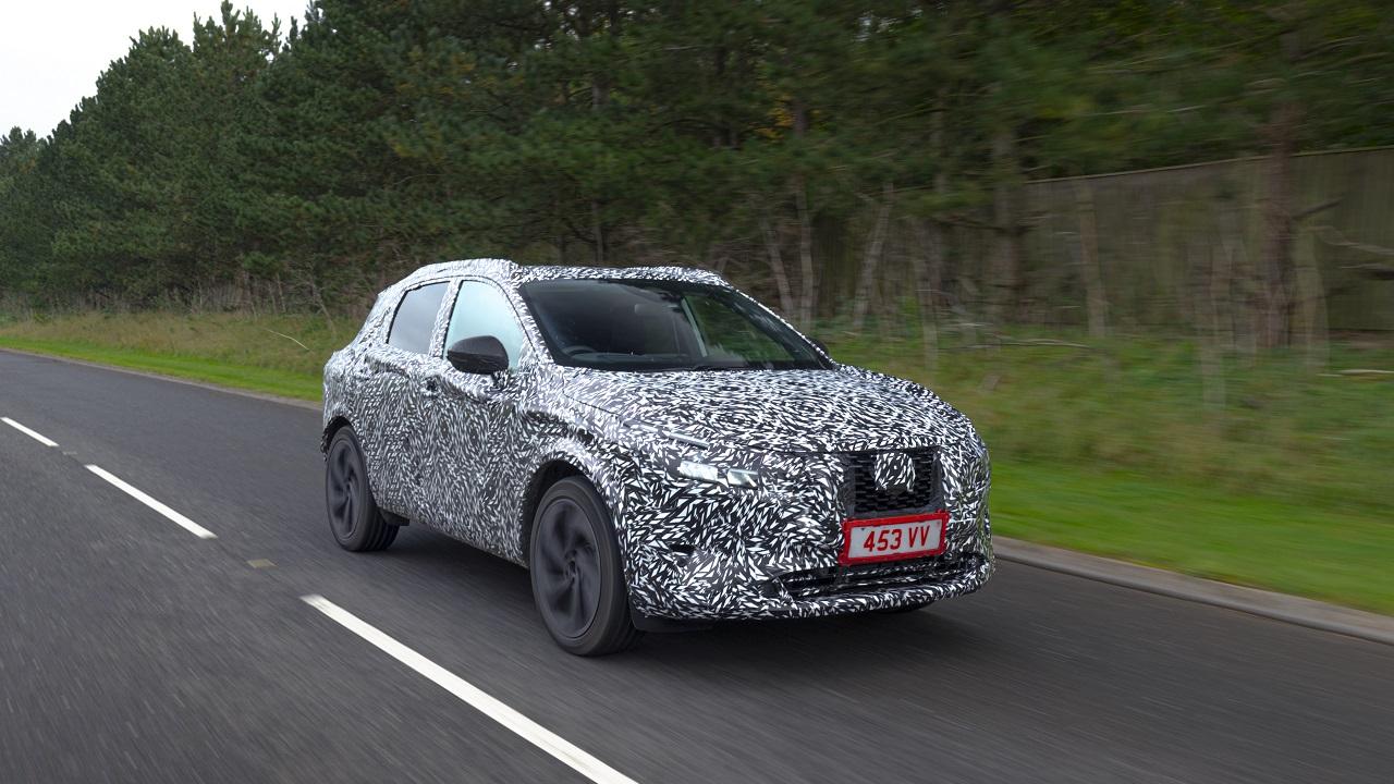Nissan Qashqai: la nuova generazione arriva nella primavera del 2021 thumbnail