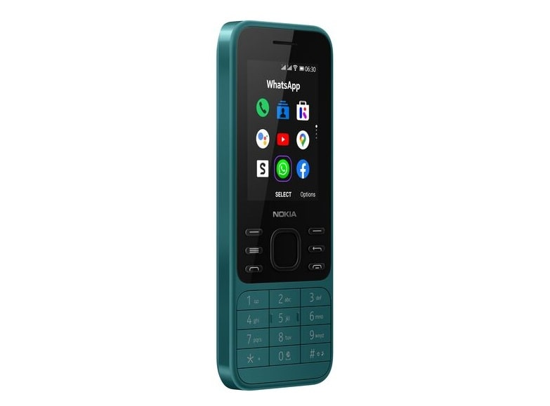 Nokia 6300 4G_CyanGreen_LHS_45-min