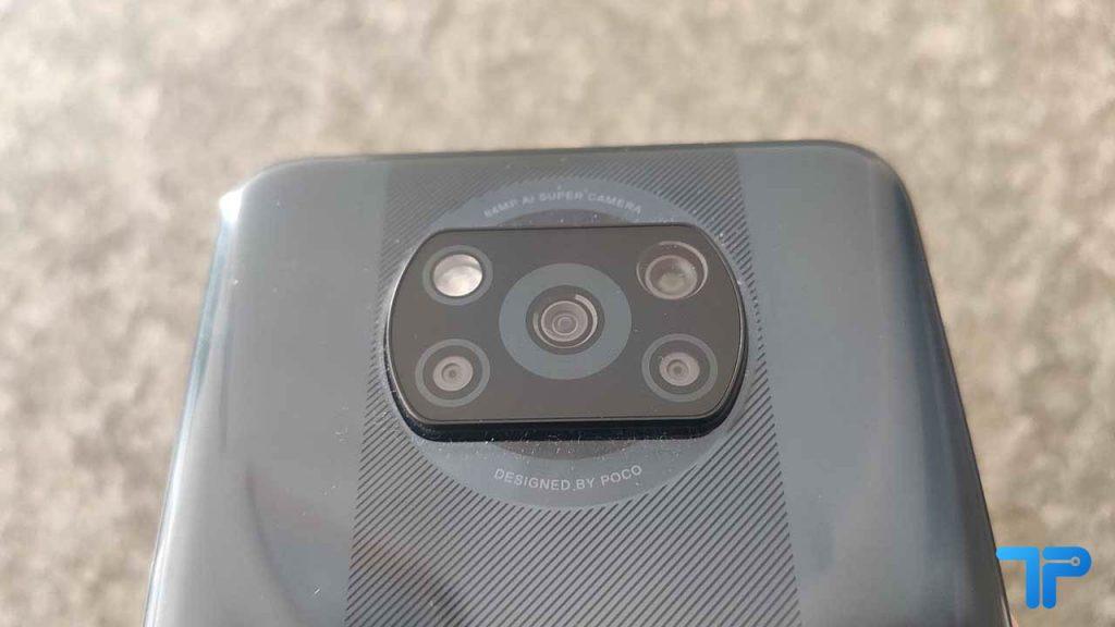 POCO X3 fotocamera
