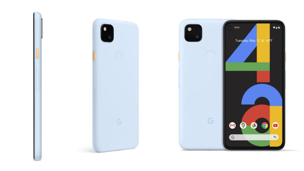 Pixel 4A turchese