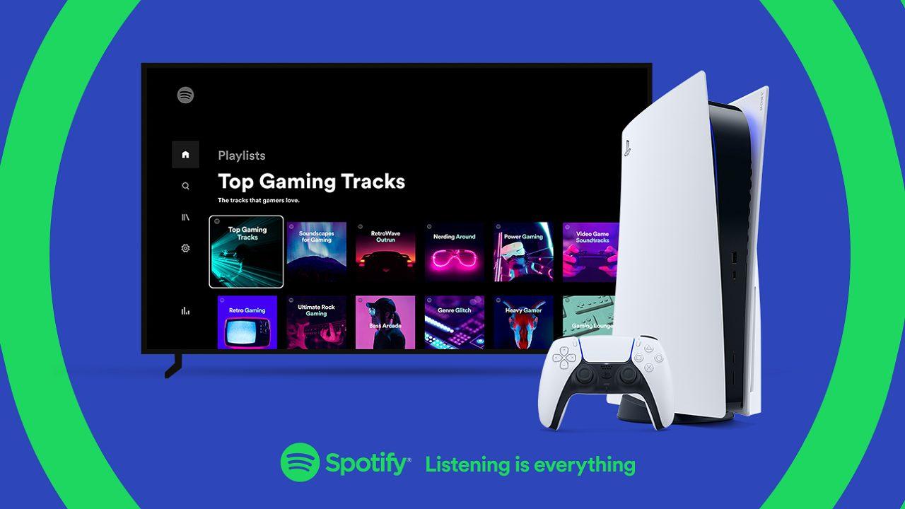 PlayStation 5 vi permette di riprodurre musica su Spotify, ecco come thumbnail