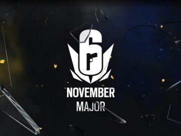 Rainbow Six Major PAris Novembre