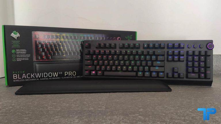 Razer BlackWidow V3 Pro wireless copertina