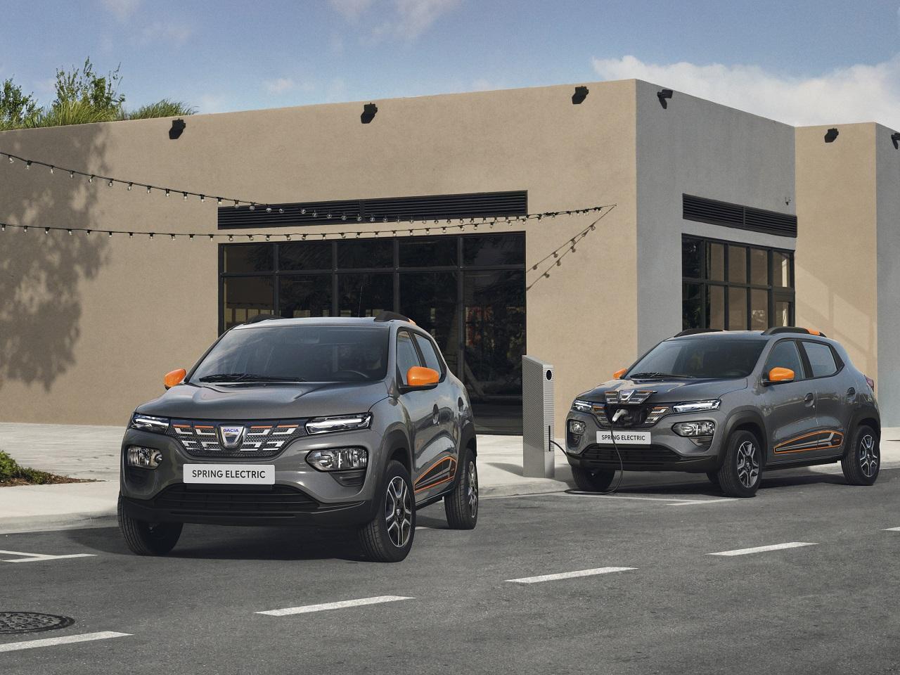 Renault Twingo Electric 2020 Dacia Spring