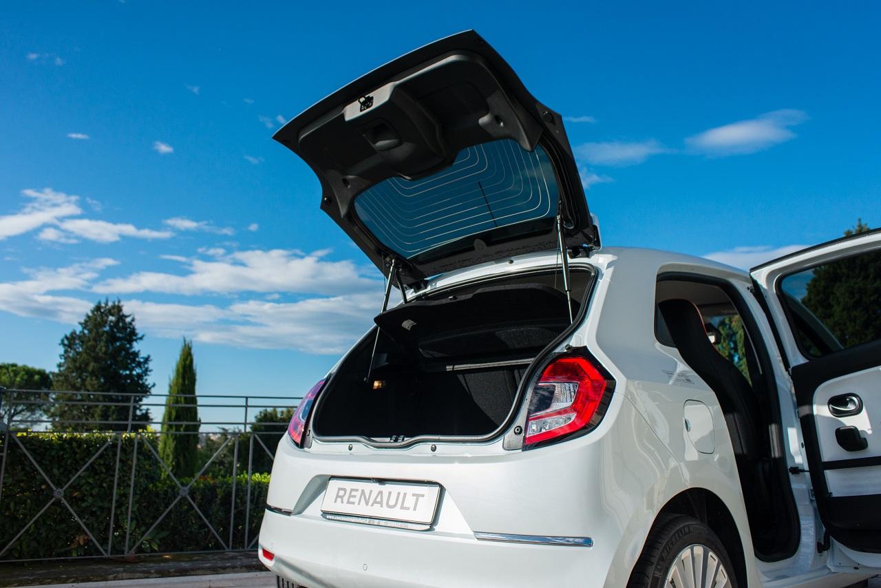 Renault Twingo Electric 2020 bagagliaio
