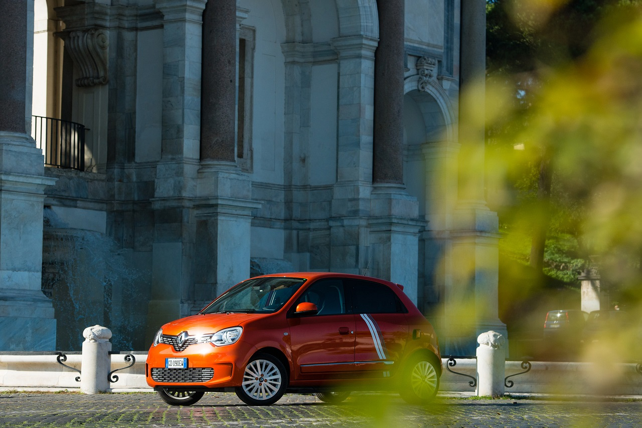 Renault Twingo Electric 2020 frontale