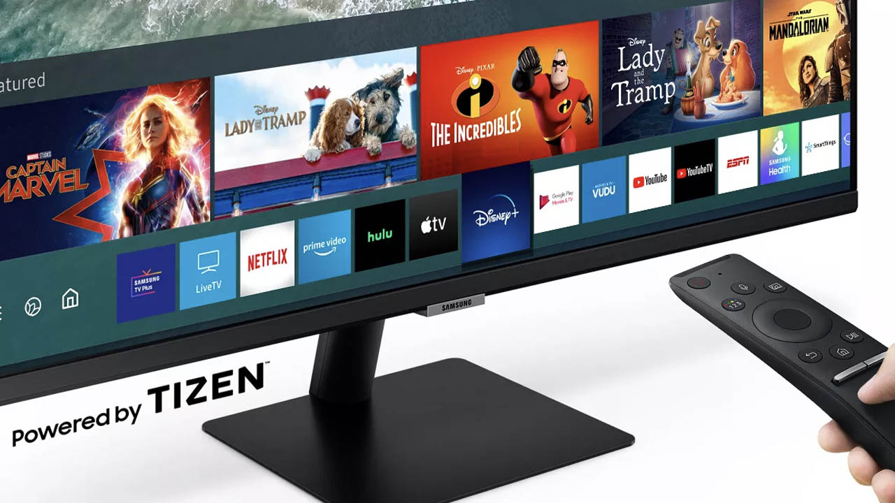 Samsung smart monitor tizen os