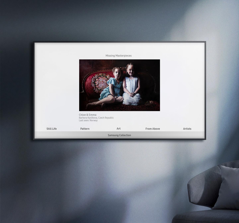 Le opere d'arte perdute raccolte in una collezione per il The Frame thumbnail