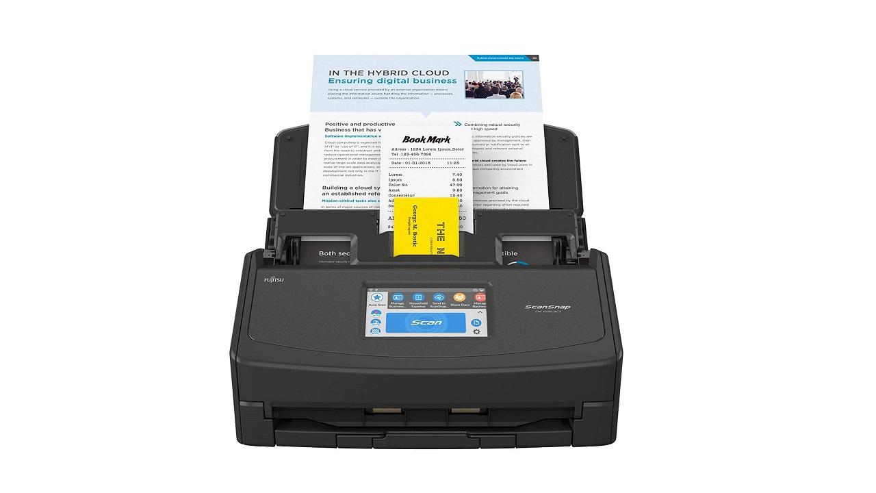 Uno scanner ScanSnap ix100 in regalo acquistando il modello ix1500 thumbnail