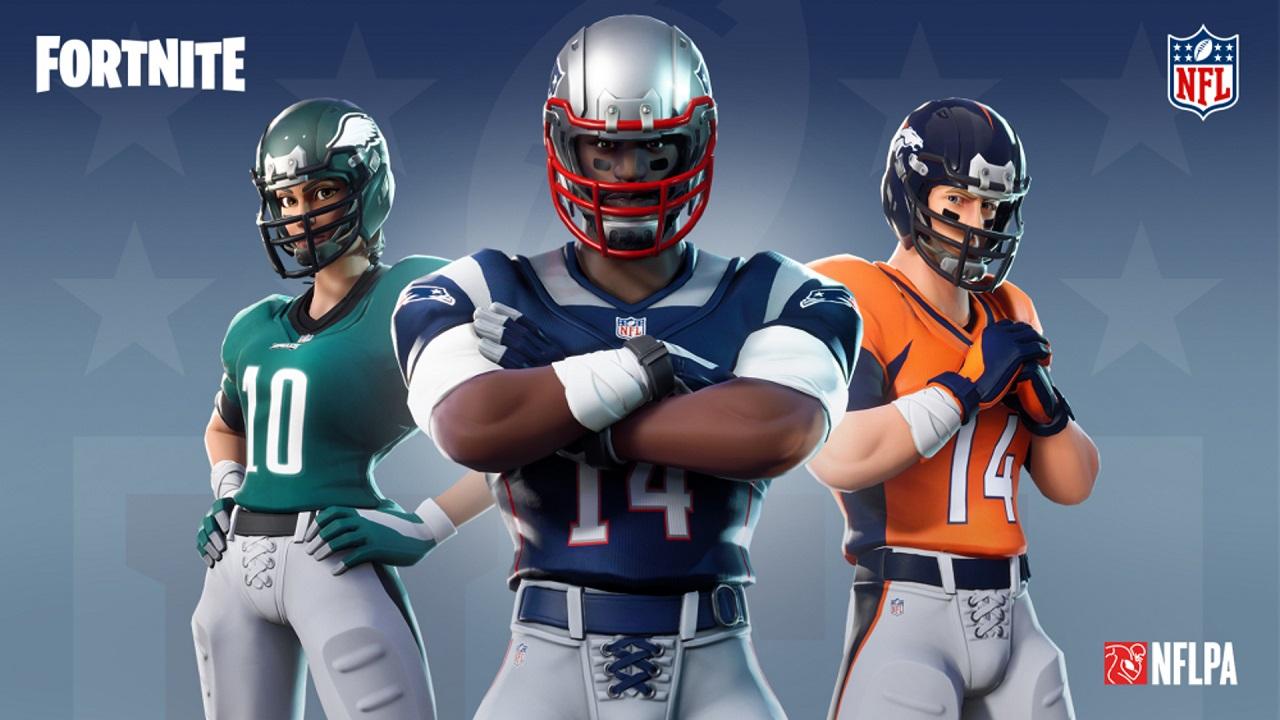 Disponibili nuove skin NFL su Fortnite thumbnail