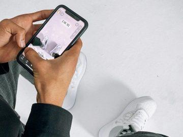 Sneaker Snapchat dior