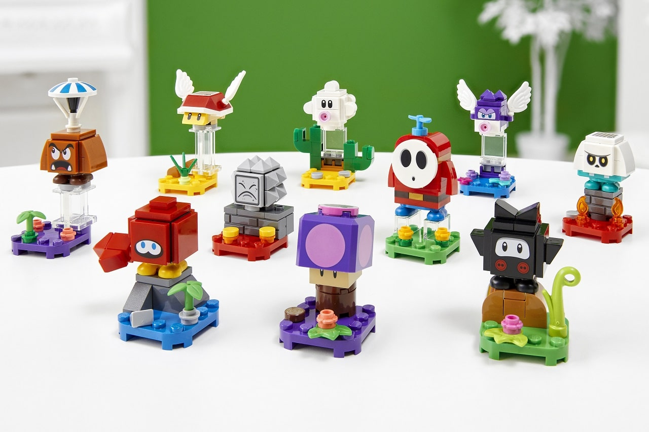 Lego Nintendo set personaggi-min