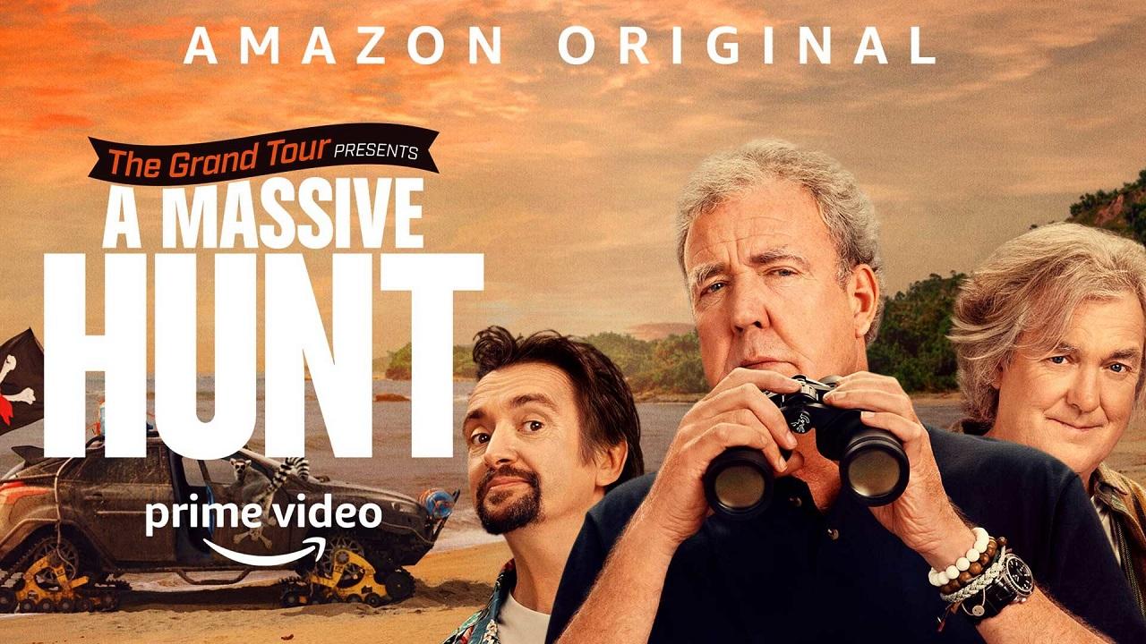 Amazon Prime Video annuncia il lancio di The Grand Tour presents: A Massive Hunt thumbnail